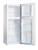 Amica DT 372 100 W 128 cm weiß