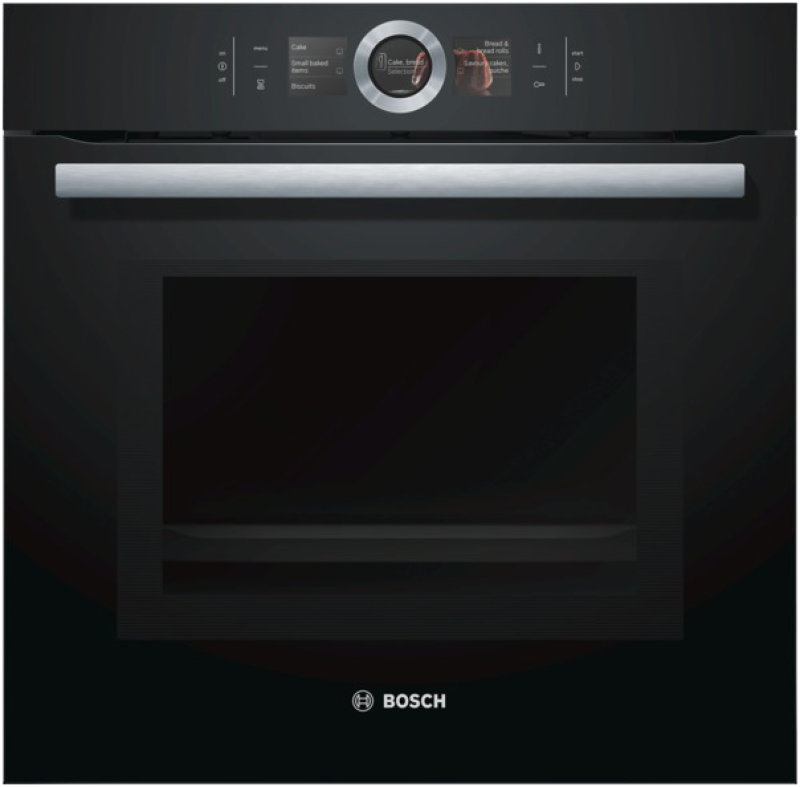 bosch hmg 6764 b 1 backofen mit mikrowelle kochen backen. Black Bedroom Furniture Sets. Home Design Ideas