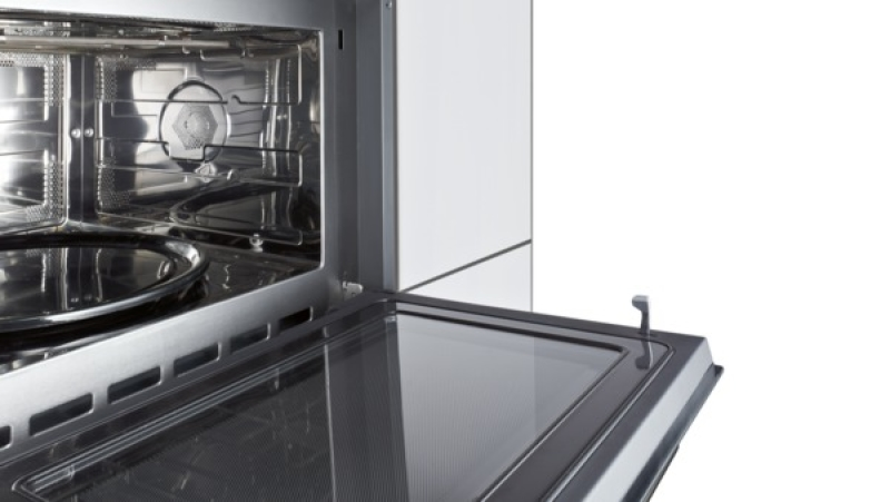 siemens hb 84 h 501 einbau mikrowellen ger t mit grill edelstahl kochen backen einbaumikrowellen. Black Bedroom Furniture Sets. Home Design Ideas