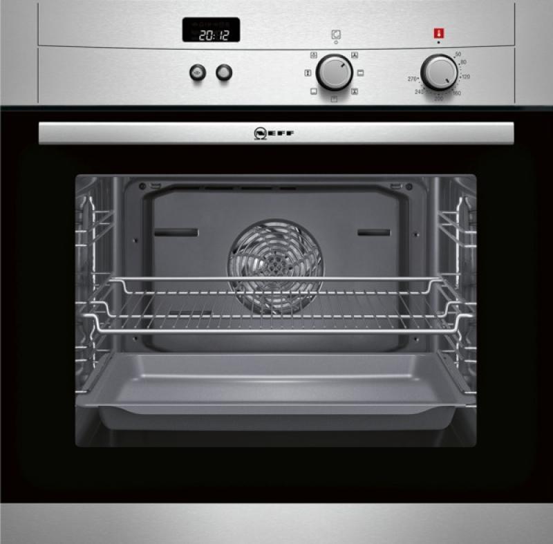 Neff BM 1842 N ( B18 M42 N3) Edelstahl Kochen & Backen Einbaubacköfen   {Einbaubacköfen 81}