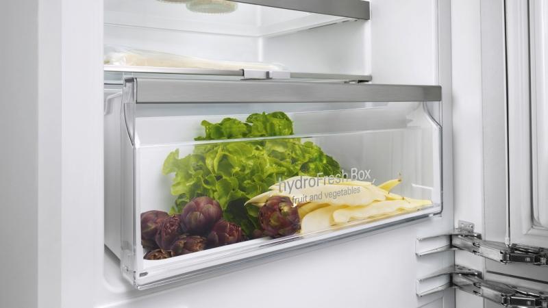Siemens Kombi Kühlschrank : Siemens ki saf a flachscharnier technik einbau kühl