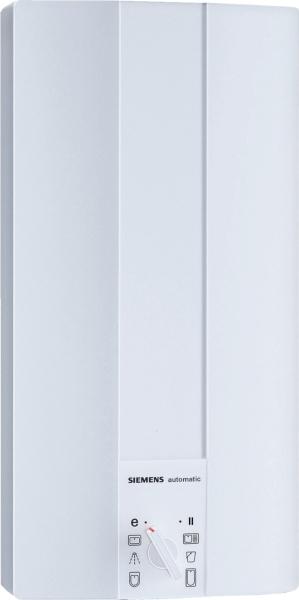 siemens durchlauferhitzer 18 kw hydraulisch wei elektrokleinger te durchlauferhitzer. Black Bedroom Furniture Sets. Home Design Ideas