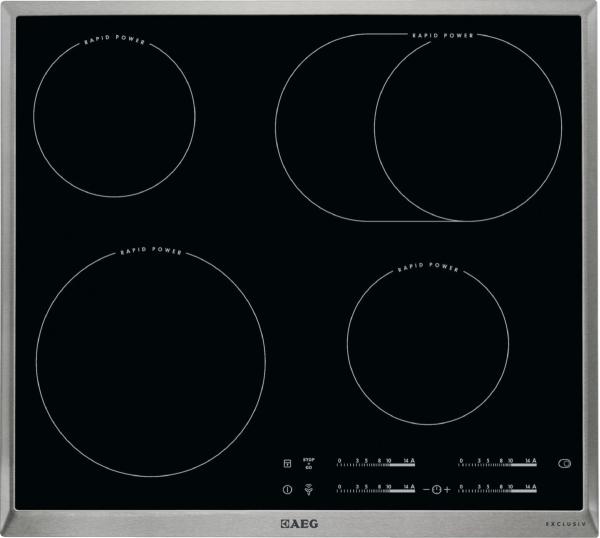 aeg hk 654859 xb rapid kochfeld autark glaskeramik exclusiv kochfelder herdgebunden. Black Bedroom Furniture Sets. Home Design Ideas