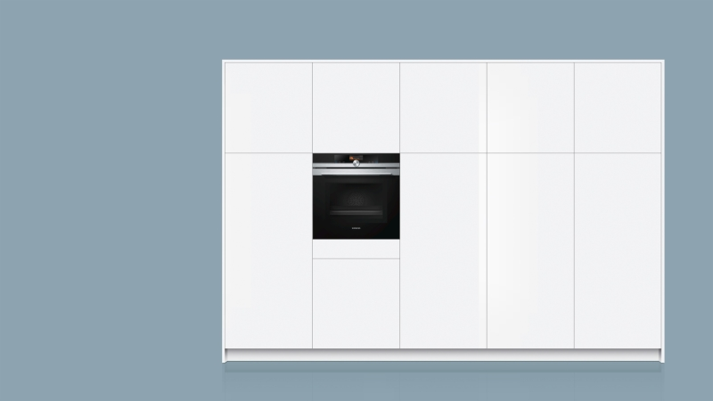 ... Siemens HM 676 G 0 S 6 Backofen Mit Mikrowelle Pyrolyse Home Connect  Edelstahl ...