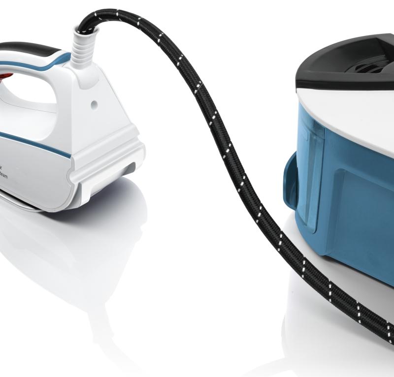 siemens ts 2231100 dampfstation slider sl22 silenceplus wei azure blue elektrokleinger te. Black Bedroom Furniture Sets. Home Design Ideas