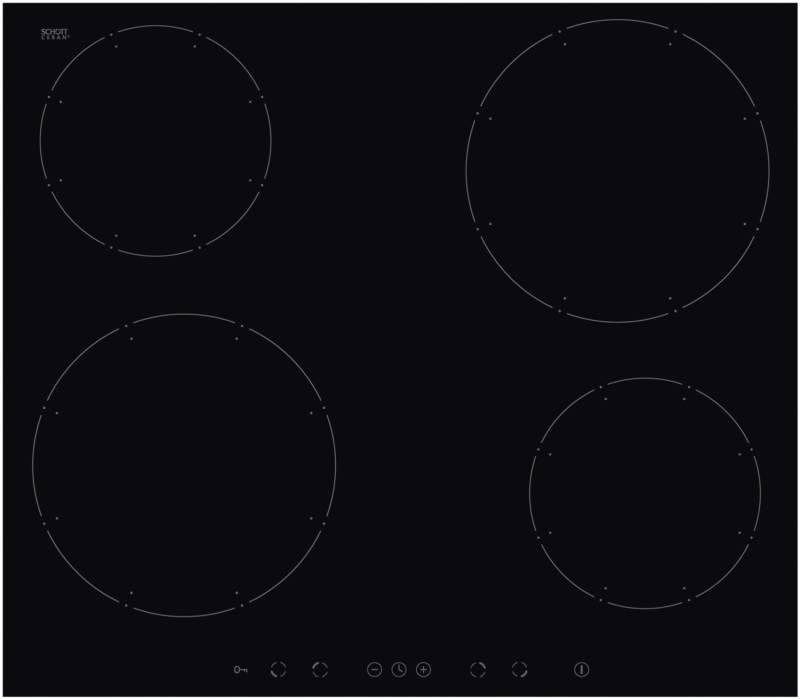 amica kmi 13311 c induktionskochfeld 60 cm rahmenlos autark kochfelder herdgebunden induktion. Black Bedroom Furniture Sets. Home Design Ideas