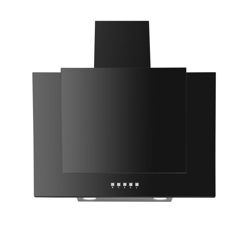 amica kh 17118 s kopffrei haube 60 cm glasschirm schwarz kochen backen dunstabzugshauben. Black Bedroom Furniture Sets. Home Design Ideas