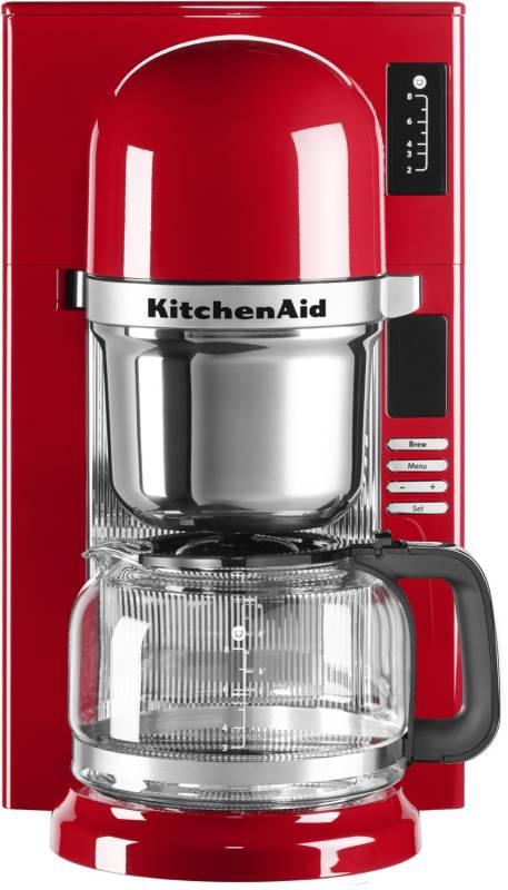 kitchenaid 5 kcm 0802 eer empire rot kaffeemaschine kaffee. Black Bedroom Furniture Sets. Home Design Ideas