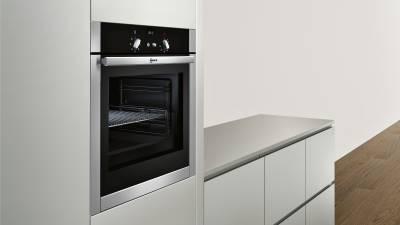 neff mega shm 4445 n b44m42n5 eek a einbaubackofen edelstahl kochen backen einbauback fen. Black Bedroom Furniture Sets. Home Design Ideas
