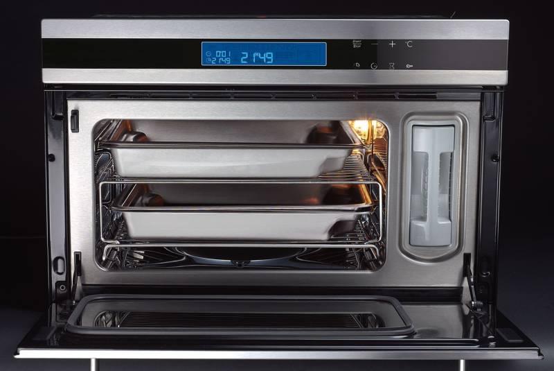 oranier edg 9808 dampfgarer 45 cm hoch kochen backen dampfgarer. Black Bedroom Furniture Sets. Home Design Ideas