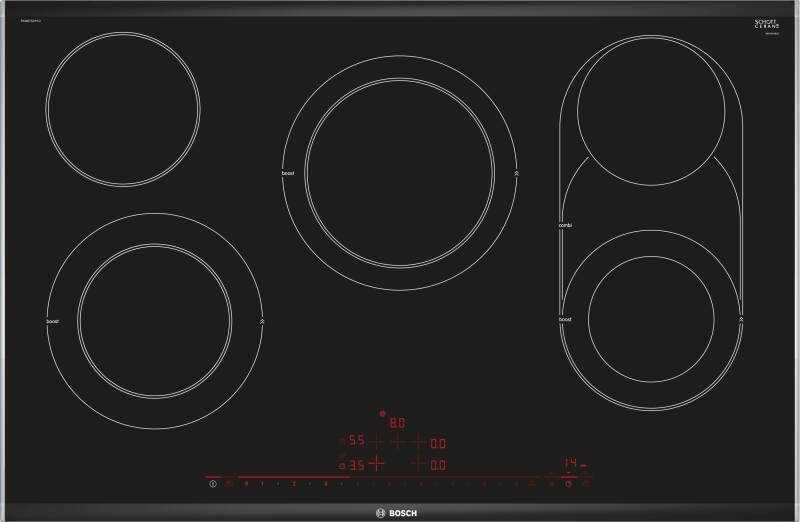 bosch pkm 875 dp 1 d kochstelle glaskeramik 80 cm kochfelder herdgebunden induktion. Black Bedroom Furniture Sets. Home Design Ideas