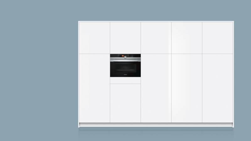 siemens cm 678 g 4 s 1 pyrolyse kompakt backofen mikrowelle 45 cm hoch kochen backen. Black Bedroom Furniture Sets. Home Design Ideas