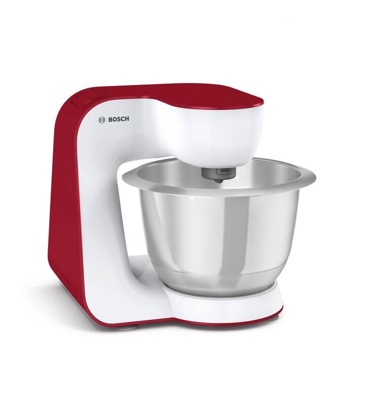 Bosch MUM 54 R 00 Küchenmaschine rot-weiß Elektrokleingeräte ...
