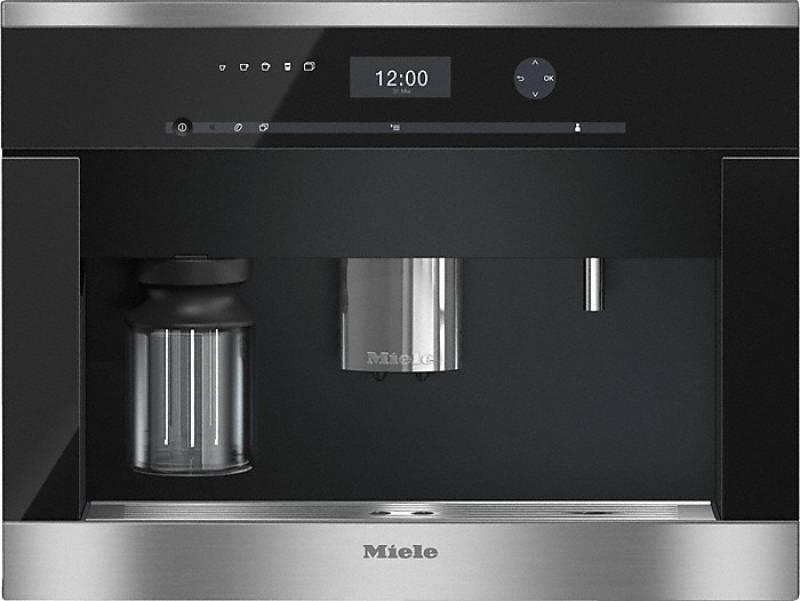 miele cva 6401 edelstahl einbau kaffeevollautomat kaffee tee espresso einbau kaffeeautomaten. Black Bedroom Furniture Sets. Home Design Ideas