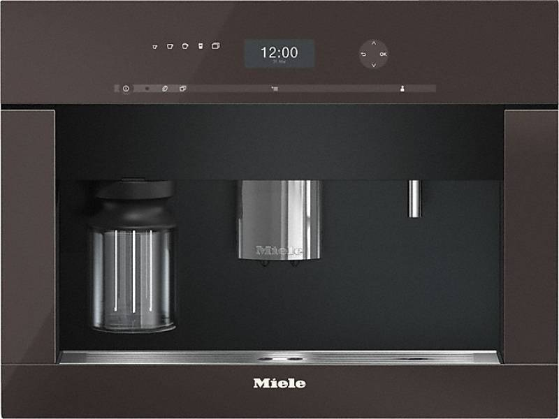 miele cva 6401 hvbr havannabraun einbau kaffeevollautomat. Black Bedroom Furniture Sets. Home Design Ideas