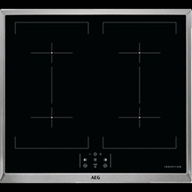 aeg hx 3313 mm 40 exclusiv a pyrolyse versenkknebel induktion 60 cm edelstahl einbauherd sets. Black Bedroom Furniture Sets. Home Design Ideas