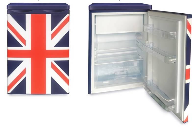 Retro Kühlschrank 85 Cm : Pkm ks uj a union jack lackierung cm kühlschränke