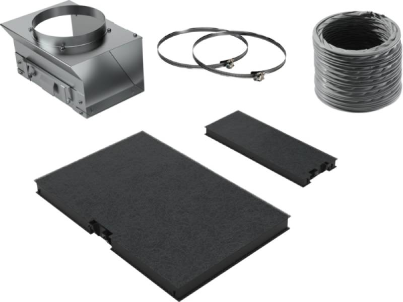 Neff dikp 951 smk a schwarz inkl. umluft starterset .inklusive 2
