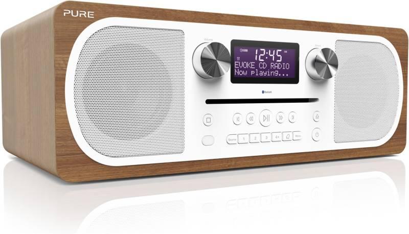 pure evoke c d6 holz dab radio mit cd hifi home cinema. Black Bedroom Furniture Sets. Home Design Ideas