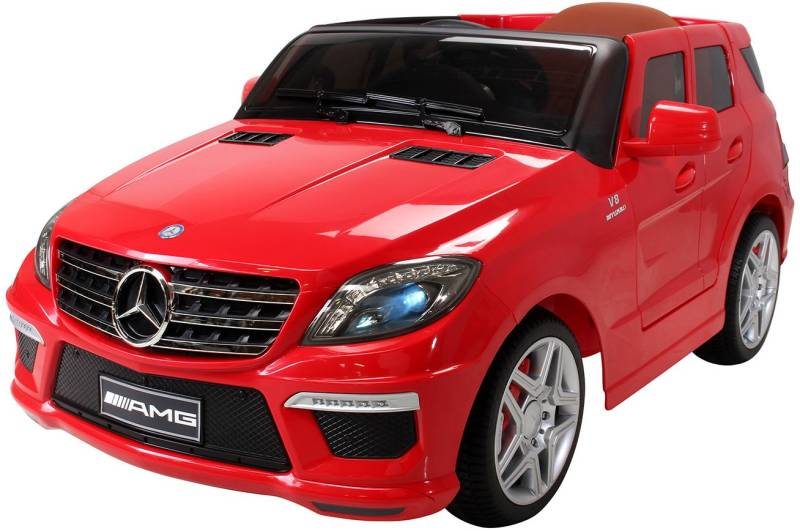 action bikes mercedes ml63 amg elektroauto rot produkte. Black Bedroom Furniture Sets. Home Design Ideas