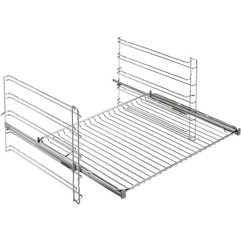 aeg beb 357 backofen set autark eek a steambake 80 cm induktionskochfeld edelstahlrahmen. Black Bedroom Furniture Sets. Home Design Ideas
