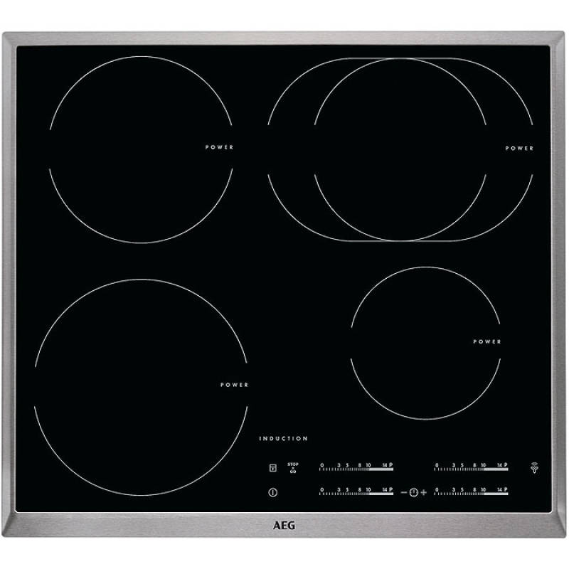 aeg beb 354 backofen set autark eek a steambake 60 cm induktionskochfeld edelstahlrahmen. Black Bedroom Furniture Sets. Home Design Ideas
