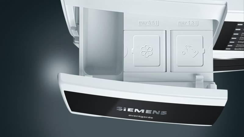 Siemens wt 7 uh 641 avangarde a 8 kg wärmepumpentrockner home