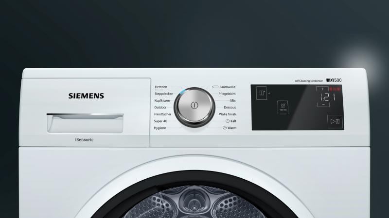 Siemens wt w a wärmepumpentrockner weiss a euronics