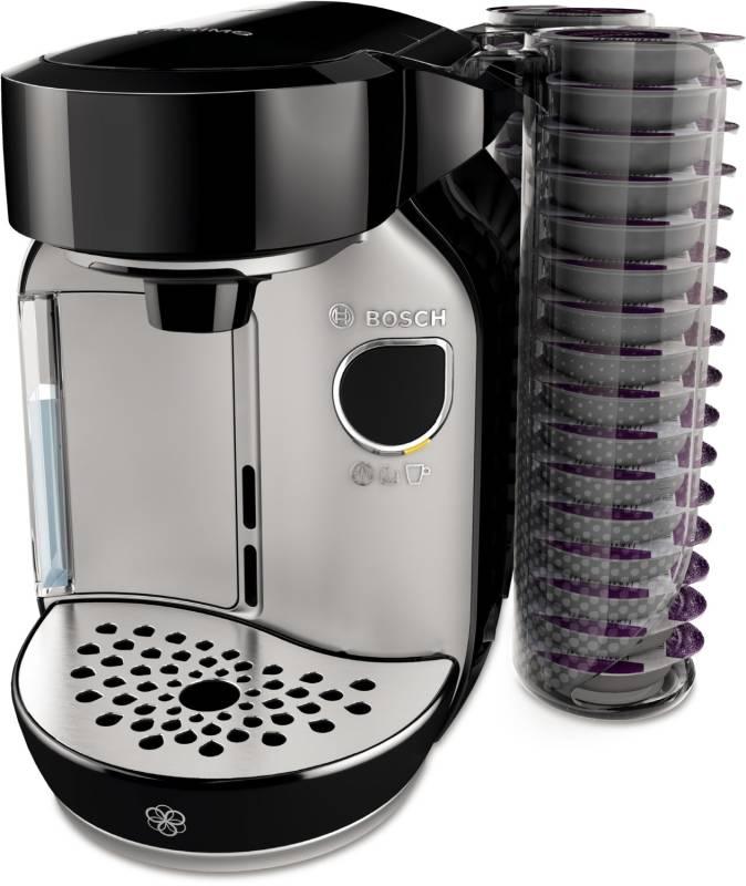 bosch tas 75 se 2 tassimo caddy magical silver kaffee tee espresso kaffeepadautomaten. Black Bedroom Furniture Sets. Home Design Ideas