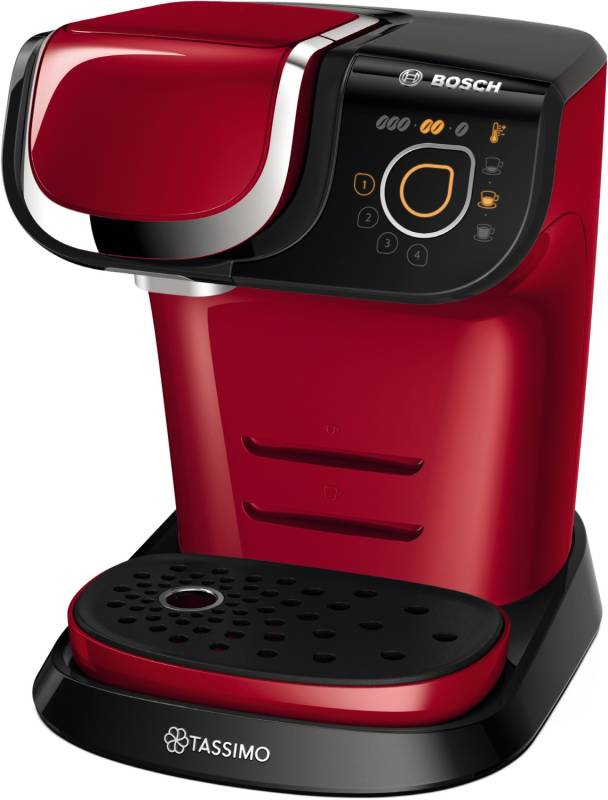 bosch tas 6003 tassimo my way deep red kaffee tee espresso kaffeepadautomaten. Black Bedroom Furniture Sets. Home Design Ideas