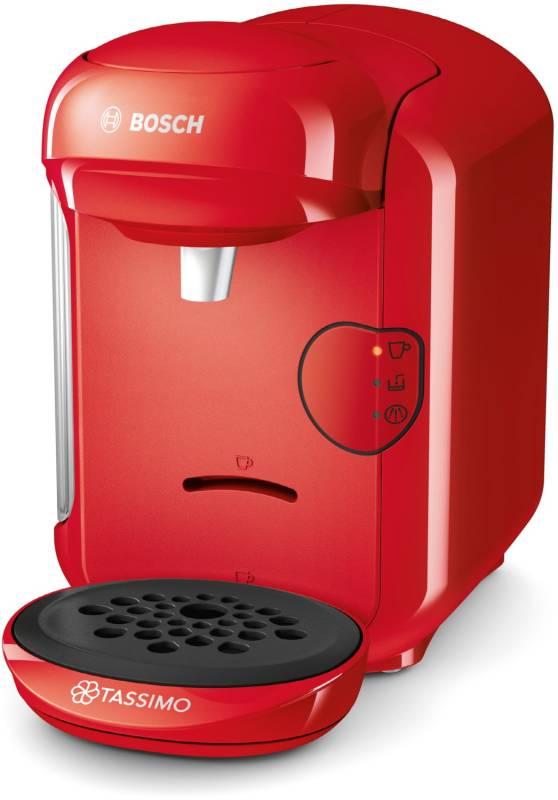 bosch tas 1403 tassimo vivy 2 just red kaffee tee espresso kaffeepadautomaten. Black Bedroom Furniture Sets. Home Design Ideas