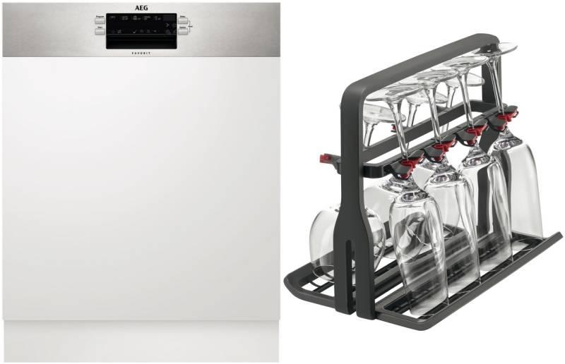 Aeg Kühlschrank Unterbau Integrierbar : Aeg fav 130 im a airdry glaskorb xtradry integrierbar 60 cm