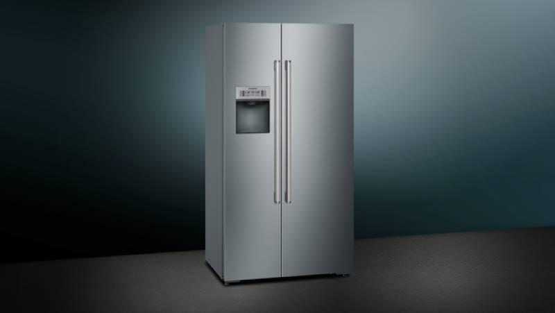 Siemens Kühlschrank Mit Wasserspender : Siemens ka dhi a nofrost home connect türen edelstahl