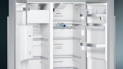 Siemens Kühlschrank Home Connect Einrichten : Siemens ka dhi a nofrost home connect türen edelstahl
