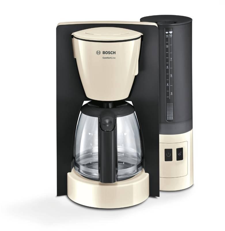 Bosch TKA 6 A 047 Kaffeemaschine creme/dunkelgrau Kaffee