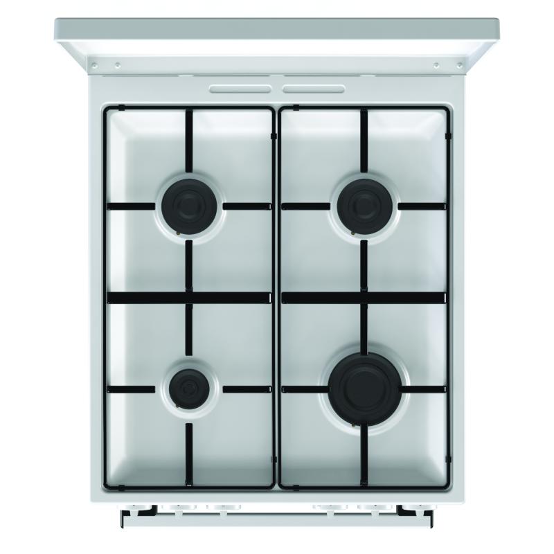 gorenje k 5110 wj eek a wei 50 cm gasherd kochen backen gasherde. Black Bedroom Furniture Sets. Home Design Ideas