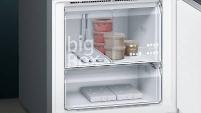 Siemens Kühlschrank Home Connect Einrichten : Siemens kg nhx p a nofrost home connect türen black inox