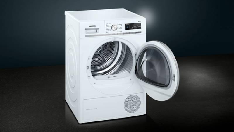 Siemens wt 47 w 561 a 8 kg wärmepumpe isensoric waschen