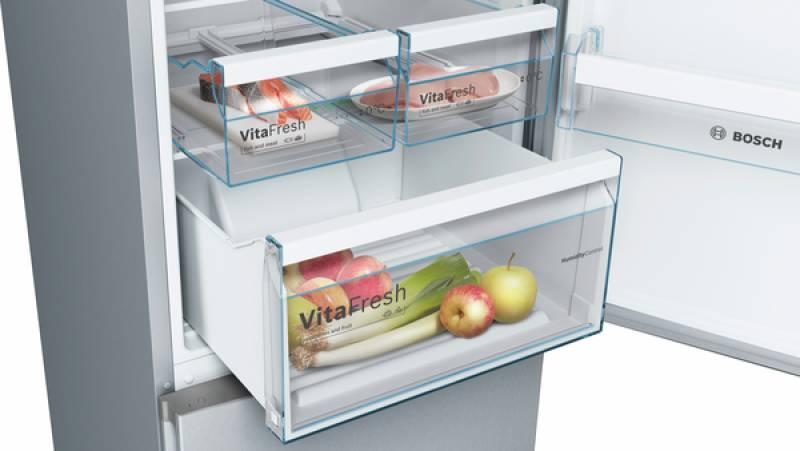 Bosch Kühlschrank Edelstahl : Bosch kgn vl a a nofrost vitafresh edelstahl optik kühl