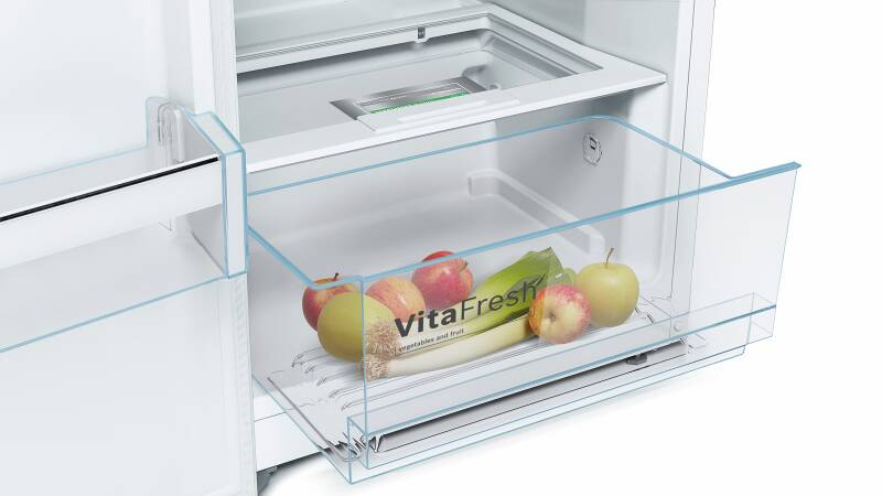 Bosch Vitafresh Kühlschrank : Bosch ksv 36 vw 3 p a vitafresh flaschenhalter weiß kühlschränke