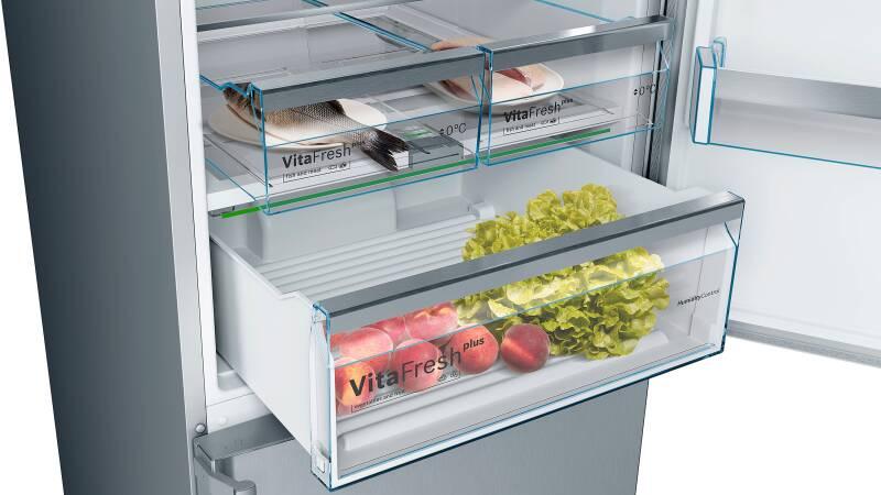 Bosch Kühlschrank Kgn 36 Xi 45 : Bosch kgn 56 hi 3 p a nofrost home connect edelstahl mit anti