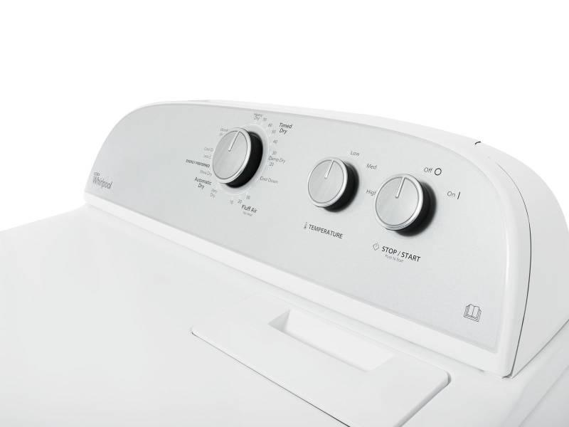 Whirlpool lwed fw gewerbe kg ablufttrockner waschen