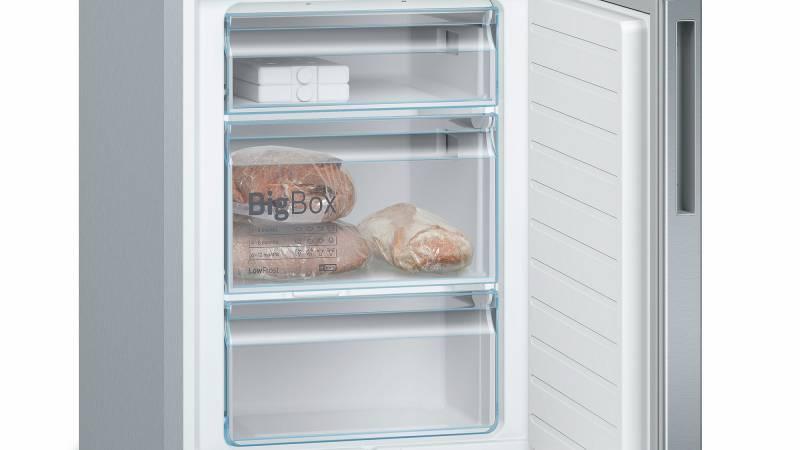 Bosch Kühlschrank Edelstahl : Bosch kge l c a lowfrost vitafresh edelstahl optik kühl