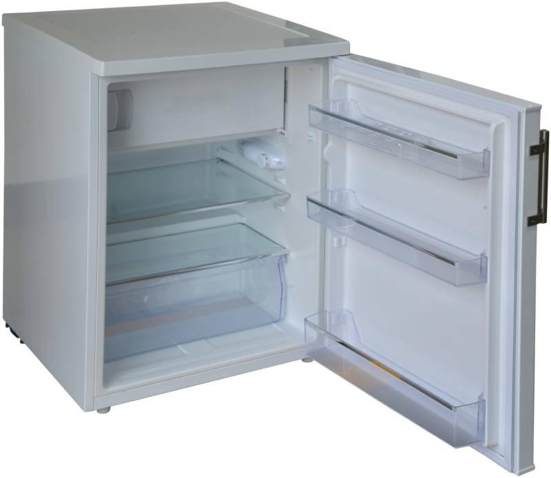 Amica Kühlschrank Mit Gefrierfach Retro : Amica ks 15915 w a 85 cm kühlschrank mit gefrierfach weiß