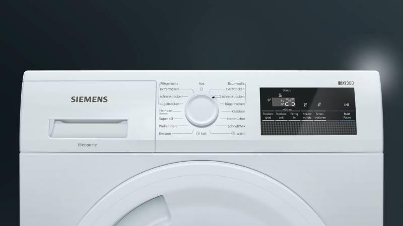 Siemens wt rv a isensoric kg wärmepumpentrockner waschen