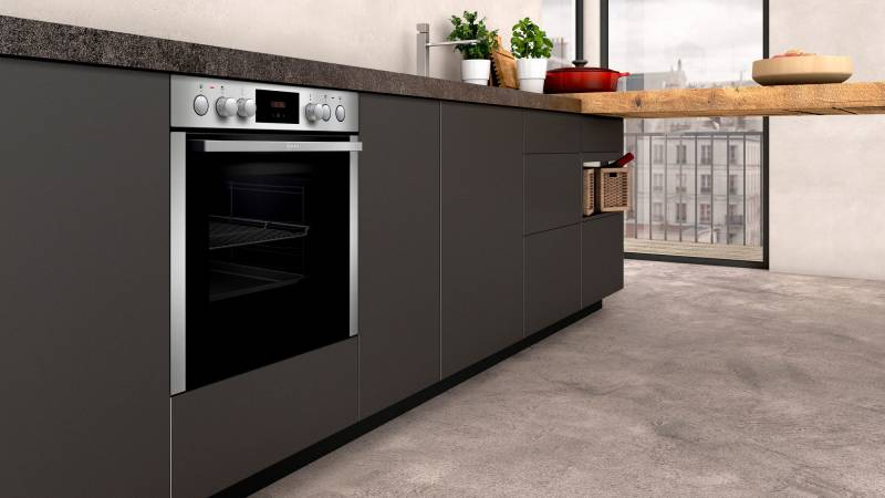 Neff Kühlschrank Side By Side : Neff ecb 1602 e1ccc0an0 eek: a einbauherd edelstahl kochen