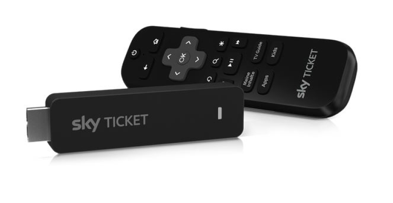 Sky Sky Ticket TV Stick Voucher Fiction inkl. 2 Monate Cinema & 2 Monate Entertainment