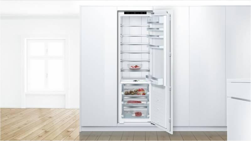 Bosch Kühlschrank Biofresh : Bosch kif pf einbau kühlschrank a cm flachscharnier