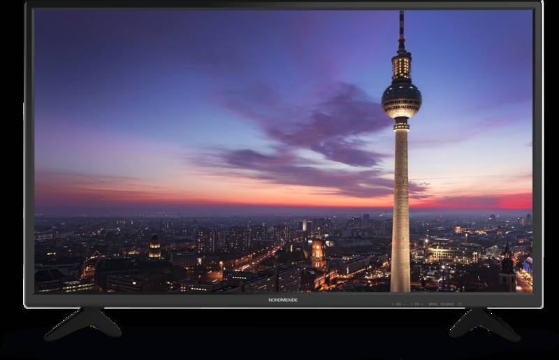 Nordmende Wegavision Fhd32a Eek A 32 Zoll 81 Cm Fernseher Tv Lcd