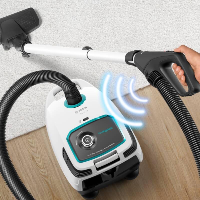 Bosch BGL 6 LHYG ProHygienic Staubsauger mit Beutel weiss